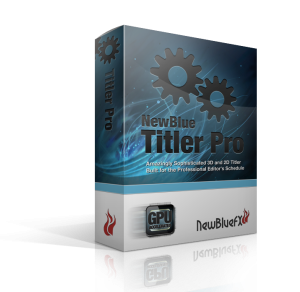 NewBlueFX Titler Ultimate Crack + Serial Key